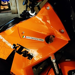 sticker for motorcycling