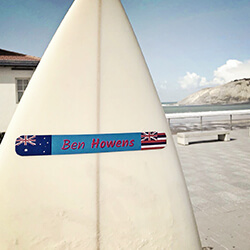 sticker for surf table